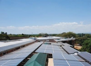 Solar means 24-Hour power for African village